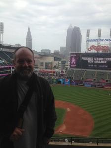 Jeffery attended Cleveland Indians vs. Minnesota Twins - MLB on May 14th 2017 via VetTix