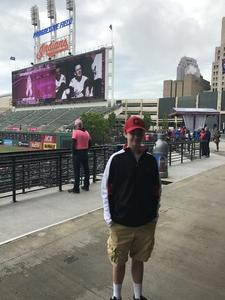 Christopher attended Cleveland Indians vs. Minnesota Twins - MLB on May 14th 2017 via VetTix