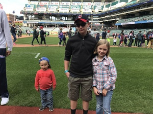 Aston attended Cleveland Indians vs. Minnesota Twins - MLB on May 14th 2017 via VetTix