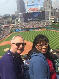 Yvonne Skerritt attended Cleveland Indians vs. Minnesota Twins - MLB on May 14th 2017 via VetTix