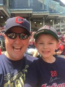 Aaron attended Cleveland Indians vs. Minnesota Twins - MLB on May 14th 2017 via VetTix