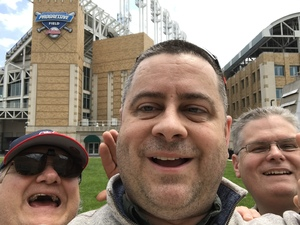 Jerry attended Cleveland Indians vs. Minnesota Twins - MLB on May 14th 2017 via VetTix