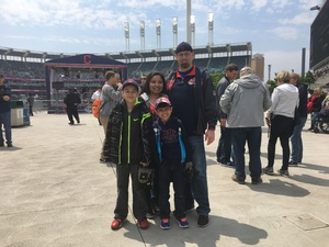 Mark attended Cleveland Indians vs. Minnesota Twins - MLB on May 14th 2017 via VetTix