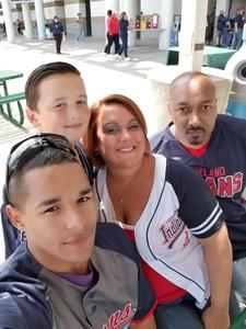 Travis attended Cleveland Indians vs. Minnesota Twins - MLB on May 14th 2017 via VetTix