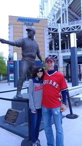 Michael attended Cleveland Indians vs. Minnesota Twins - MLB on May 14th 2017 via VetTix