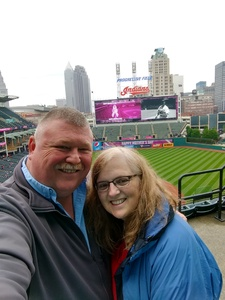 Durward attended Cleveland Indians vs. Minnesota Twins - MLB on May 14th 2017 via VetTix