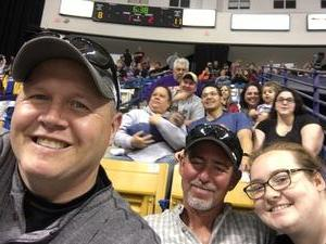 James attended Fayettville Fireantz vs. Huntsville Havoc - Hockey on Apr 7th 2017 via VetTix