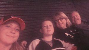 Rob L. attended New Jersey Devils vs. Philadelphia Flyers - NHL on Apr 4th 2017 via VetTix