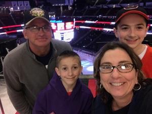 John & Maria Ryan attended New Jersey Devils vs. Philadelphia Flyers - NHL on Apr 4th 2017 via VetTix