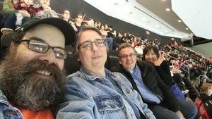 John attended New Jersey Devils vs. Philadelphia Flyers - NHL on Apr 4th 2017 via VetTix