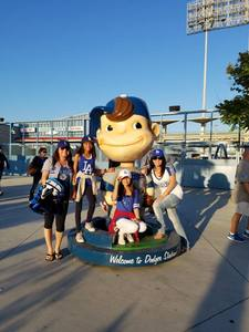 Mabel attended Los Angeles Dodgers vs. Colorado Rockies - MLB on Apr 19th 2017 via VetTix