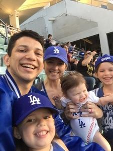 Jose attended Los Angeles Dodgers vs. Colorado Rockies - MLB on Apr 19th 2017 via VetTix