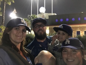 matthew attended Los Angeles Dodgers vs. Colorado Rockies - MLB on Apr 19th 2017 via VetTix
