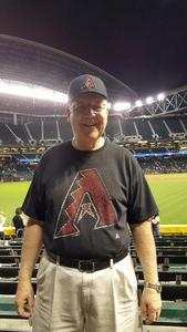 Ernest attended Arizona Diamondbacks vs. San Diego Padres - MLB on Apr 27th 2017 via VetTix