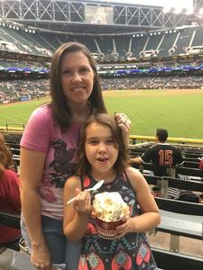 Michael attended Arizona Diamondbacks vs. San Diego Padres - MLB on Apr 27th 2017 via VetTix
