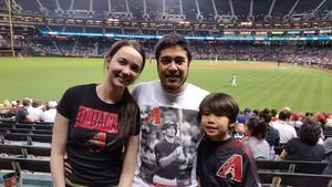 Christopher attended Arizona Diamondbacks vs. San Diego Padres - MLB on Apr 27th 2017 via VetTix