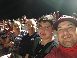 Kaz attended Phoenix Rising FC vs. Tulsa Roughnecks FC - USL on Oct 4th 2017 via VetTix