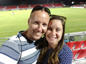 Dusty attended Phoenix Rising FC vs. Tulsa Roughnecks FC - USL on Oct 4th 2017 via VetTix