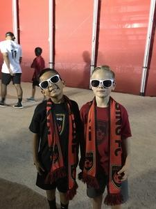 Albert attended Phoenix Rising FC vs. Tulsa Roughnecks FC - USL on Oct 4th 2017 via VetTix