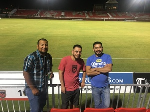 Sammy attended Phoenix Rising FC vs. Tulsa Roughnecks FC - USL on Oct 4th 2017 via VetTix
