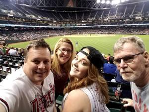 Michael attended Arizona Diamondbacks vs. New York Mets - MLB on May 16th 2017 via VetTix