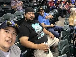Anthony attended Arizona Diamondbacks vs. New York Mets - MLB on May 16th 2017 via VetTix