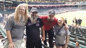 Charles attended Arizona Diamondbacks vs. New York Mets - MLB on May 16th 2017 via VetTix
