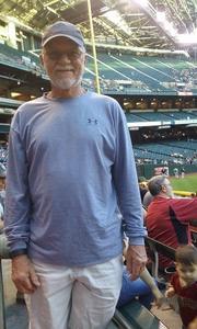 Arthur attended Arizona Diamondbacks vs. Pittsburgh Pirates - MLB on May 11th 2017 via VetTix