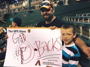 Kent attended Arizona Diamondbacks vs. Pittsburgh Pirates - MLB on May 11th 2017 via VetTix