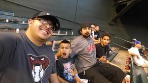 Richard attended Arizona Diamondbacks vs. Pittsburgh Pirates - MLB on May 11th 2017 via VetTix