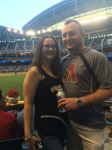 Seth attended Arizona Diamondbacks vs. Pittsburgh Pirates - MLB on May 11th 2017 via VetTix