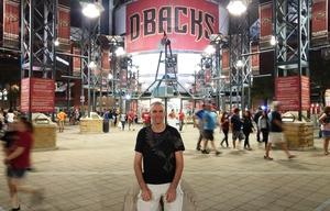 Matthew attended Arizona Diamondbacks vs. Pittsburgh Pirates - MLB on May 11th 2017 via VetTix