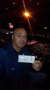 Antonio attended Bon Jovi - This House Is Not for Sale Tour on Apr 13th 2017 via VetTix
