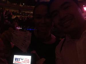 Jubbie attended Bon Jovi - This House Is Not for Sale Tour on Apr 15th 2017 via VetTix