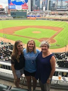 Katie attended Atlanta Braves vs. Toronto Blue Jays - MLB on May 18th 2017 via VetTix