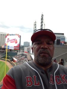 Raymond attended Atlanta Braves vs. Toronto Blue Jays - MLB on May 18th 2017 via VetTix