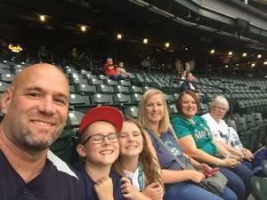 Corey attended Seattle Mariners vs. Los Angeles Angels - MLB on Sep 8th 2017 via VetTix