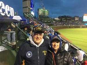 Philip attended Chicago Cubs vs. Philadelphia Phillies - MLB - Military Appreciation Night on May 1st 2017 via VetTix