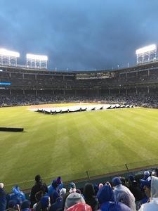 Paul attended Chicago Cubs vs. Philadelphia Phillies - MLB - Military Appreciation Night on May 1st 2017 via VetTix