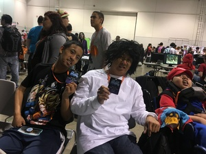 Neil attended Lvl Up Expo - Gaming Convention and Anime on May 12th 2017 via VetTix