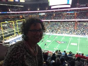 Ellis attended Washington Valor vs. Philadelphia Soul - AFL on Apr 22nd 2017 via VetTix