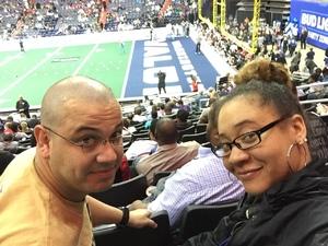David attended Washington Valor vs. Philadelphia Soul - AFL on Apr 22nd 2017 via VetTix