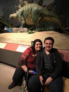 Jeffrey attended Pacific Science Center on May 14th 2017 via VetTix
