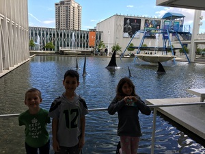 Charles attended Pacific Science Center on May 14th 2017 via VetTix