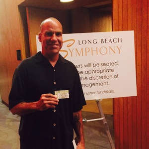 Erik attended An Evening of Mozart - Presented by the Long Beach Symphony on Apr 29th 2017 via VetTix
