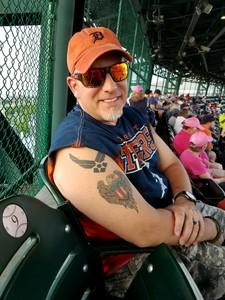 Greg attended Detroit Tigers vs. Baltimore Orioles - MLB on May 17th 2017 via VetTix