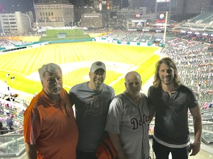 Brian Miles attended Detroit Tigers vs. Baltimore Orioles - MLB on May 17th 2017 via VetTix