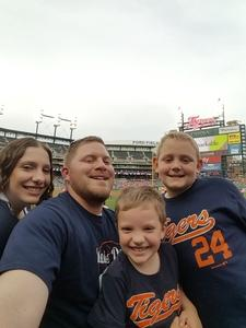 Lee attended Detroit Tigers vs. Baltimore Orioles - MLB on May 17th 2017 via VetTix