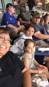 Julie attended Los Angeles Dodgers vs. San Fransico Giants - MLB on May 2nd 2017 via VetTix