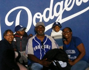 Monique attended Los Angeles Dodgers vs. San Fransico Giants - MLB on May 2nd 2017 via VetTix